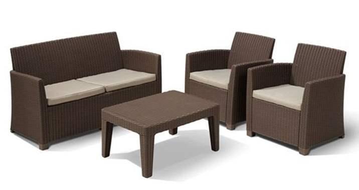 מתוחכם מערכת ישיבה | פינת ישיבה לגינה | פינת ישיבה למרפסת | פינות אוכל JQ-84
